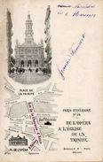 75. Paris Itinéraire N°24. De L'opéra à L'église De La Trinité - Arrondissement: 09