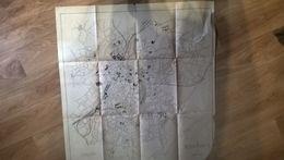 87 Plan De Limoges Edition Guillemot - Topographical Maps