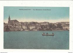 11 CASTELNAUDARY VUE GENERALE DU GRAND BASSIN CPA BON ETAT - Castelnaudary