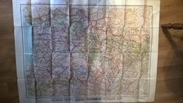 Carte Routiere Pyrenees Section Est Pour Automobilistes Et Cyclistes Taride Editeur - Topographical Maps