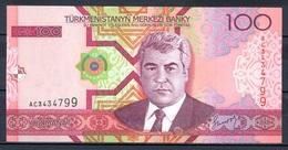 460-Turkmenistan Billet De 100 Manat 2005 AC343 Neuf - Turkmenistan