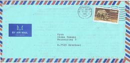 27015. Carta Aerea WINDHOEK (South Africa) SWA 1985. Ronoceros, Rinoceronte - África Del Sur (1961-...)