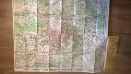 Carte Routiere  Environs De Paris Taride Editeur - Roadmaps