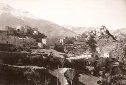 Villalago - REAL PHOTO (12,0 X 18,0 Cm) - Panorama - L'Aquila - Italia - L'Aquila