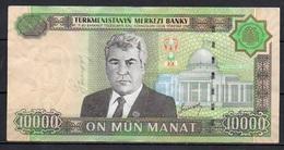 527-Turkmenistan Billet De 10 000 Manat 2005 AS800 - Turkmenistan