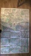 Carte Routiere 51 Marne Les Champs De Bataille Avec Publicite Au Verso - Roadmaps