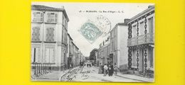 MARANS Rare Rue D'Aligre (L.C) Chte Mme (17) - Autres Communes