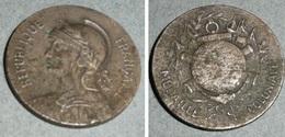 Rare Ancienne Médaille Coloniale, République Française, Militaria - France