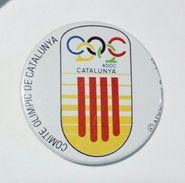 PIN'S - COMITE OLIMPIC De CATALUNYA (1989) OLYMPIC GAMES / Giochi Olimpici - Chapas De Alfiler - Giochi Olimpici