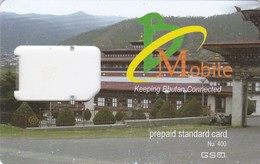 Bhutan,Nu.400 GSM Frame Without Chip - Bhutan