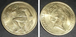 Rare Médaille Monnaie Australie Australia 5 Dollars, Elizabeth II, Sydney J.O. JO 2000 Jeux Olympique Dollar - Australie