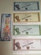 Spécimens Traveller's Cheques BNP En FRF Et THOMAS COOK En FRF Années 60 - Cheques & Traveler's Cheques