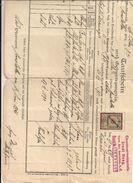 1 Taufschein Und Geburtstagzeugnis - Amstetten, 1921 Mit Aufgeklebter Stempelmarke - Birth & Baptism