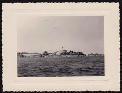 Photographie Ancienne Ile De Brehat, Phare Du Paon, 1951 (photo 412) - Places
