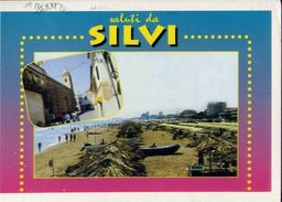 Silvi Marina - Teramo - Spiaggia - 2-98 - Formato Grande Viaggiata – E 4 - Teramo