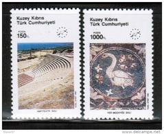 EUROPEAN IDEAS 1990 CY TR MI 283-84 CYPRUS TURKEY - Europese Gedachte