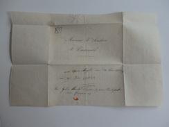 Beau Document Du Pensionnat De Casseneuil (47) De Melle Nelly Sanchou Envoyé à Mr Sanchou à Casseneuil. - Diploma & School Reports