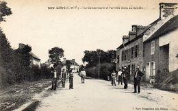 LIFFRE - La Gendarmerie Et L'arrivée Route De Rennes - France