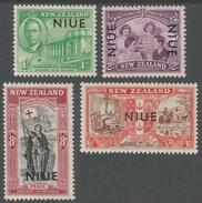 Niue. 1946 Peace. MH Complete Set. SG 98-101 - Niue