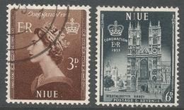 Niue. 1953 Coronation. Used Complete Set. SG 123-124 - Niue