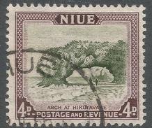 Niue. 1950 Definitives. 4d Used. SG 117 - Niue