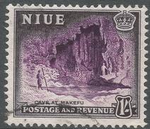 Niue. 1950 Definitives. 1/- Used. SG 120 - Niue