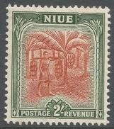 Niue. 1950 Definitives. 2/- MH. SG 121 - Niue