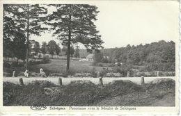 SELOIGNES : Panorama Vers Le Moulin - TRES RARE CPA - Cachet De La Poste 1952 - Momignies