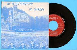 45 Tours Lina Margy Mon Petit Soldat D Afriqueles Petits Chanteurs De Notre Dame De Lourdes L Enfant Dormira Bientot - Gospel & Religiöser Gesang