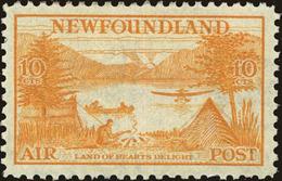 Newfoundland Scott #C14, 1933, Hinged - Newfoundland