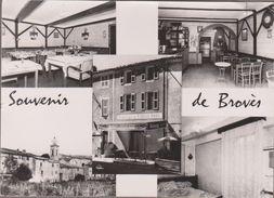 83-BROVES-Carte Multivues Auberge Du FAISAN DORE...1960 (coins Plis, Petite Fente à Gauche) - Sonstige Gemeinden