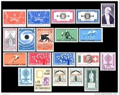 ITALIA REPUBBLICA - 1962 - Annata Completa - 21 Valori - Complete Year - ** MNH/VF - Annate Complete