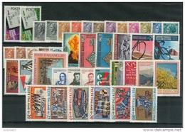 ITALIA REPUBBLICA - 1968 - Annata Completa - 46 Valori - Complete Year - ** MNH/VF - Annate Complete