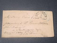 ALLEMAGNE  - Enveloppe De Dillingen Pour La France -  L 11526 - Germany