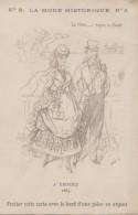 Sports - Hippisme - Course Chevaux -  Mode 2ème Empire - Calendrier 1904 Le Kabiline - Hípica