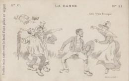 Folklore - Danse - Cake Walk Rustique - Costumes Cochons - Calendrier 1904 Le Kabiline - Danses