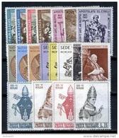 VATICANO - VATICAN - 1963 - Annata Completa - 19 Valori - Complete Year - ** MNH/VF - Annate Complete
