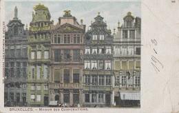 Belgique - Bruxelles - Maison Des Corporations - 1903 - Paillettes - Editeurs Blümlein Et Cie Francfort S/M - Monumenti, Edifici