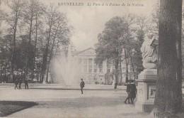 Belgique - Bruxelles - Parc Et Palais De La Nation - Bossen, Parken, Tuinen