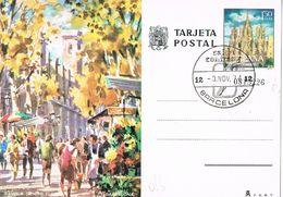 27039. Entero Postal BARCELONA 1974. Fechador Especial Salon SONIMAG 74 - 1931-....
