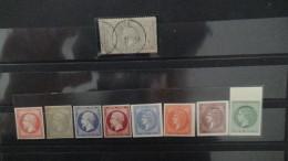 Carton 29 Kg Séries GH **, Bandes ** De France, N°33 Obl + Essais, Albums Remplis De Timbres Du Monde. Voir Commentaires - Timbres
