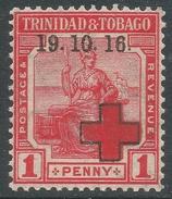 Trinidad & Tobago. 1916 War Tax. 1d MNH SG 175 - Trinidad & Tobago (...-1961)