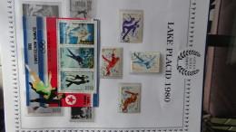 Thématique La Collection Olympique Du Siècle. Voir Commentaires - Timbres