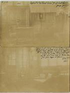 CARTE PHOTO GEORGES GRELLET 1903 INTERIEUR AUTOGRAPHE Dessinateur - Célébrités