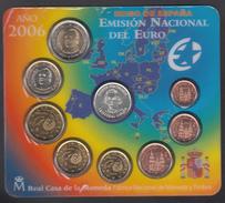 SPAIN  EURO SET 2006 BU Incl. MEDAL COLUMBUS - Espagne