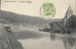 BELGIQUE  -  HASTIERE Par De Là -  Le Pont Et L'Eglise - Hastière