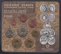 GREECE  EURO SET 2006 BU - Grèce