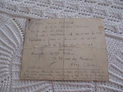 Correspondance D'un Guerillero Espagnol Mort à MATHAUSEN (GUSEN) Le 9/11/1941 - 1939-45