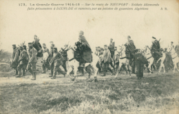 BE DIXMUDE / Guerre 1914-15 Soldats Allemands - Prisonniers - Goumiers Algériens / - Belgium
