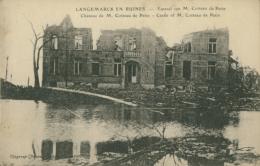 BE LANGEMARCK / Château De M. Cotteau De Patin - Ruines / - Belgium